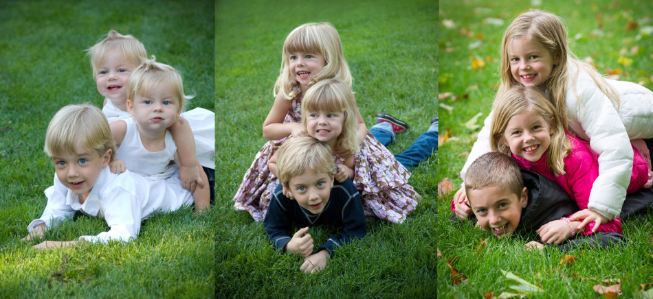 Sal, Josie and Chase Cerrell in 2007, 2009 and 2013.