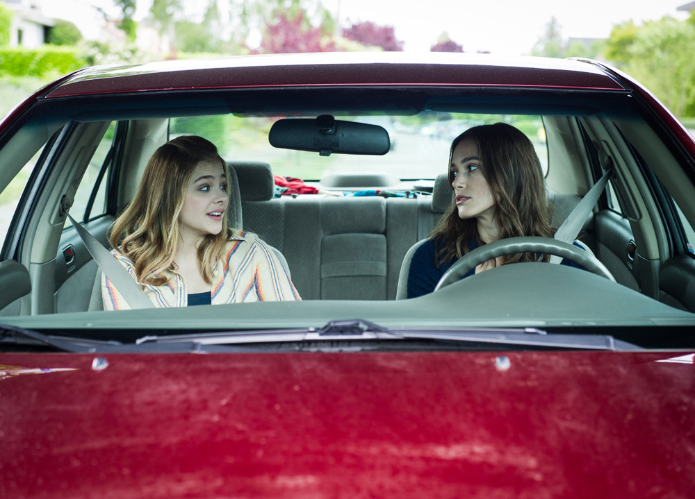 "Chloe Grace Moretz and Keira Knightly in ""Laggies."""