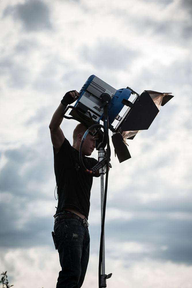 Lights, camera, action!