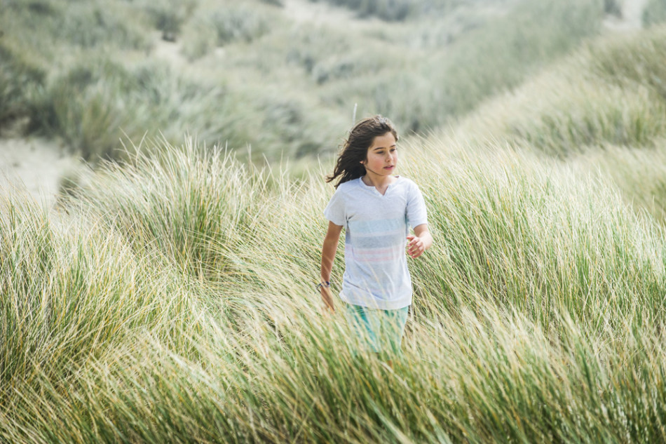 Probably my favorite personal photo of the year - my daughter Mavis exploring the Oregon Dunes on a windy, foggy day,  near Florence, Oregon.